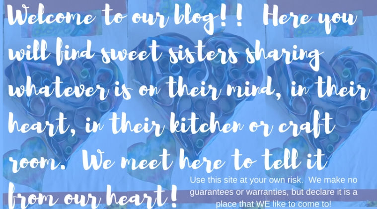 Welcome to our blog!!