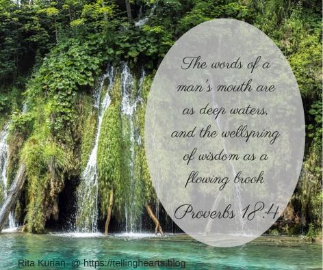 proverbs 18_4b